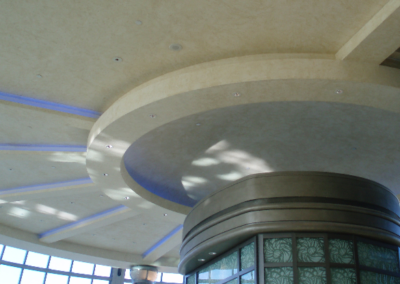 fallsview casino resort artisan work on ceilings plaster and metalic finishesGILLET Painting Decorating Niagara (100)
